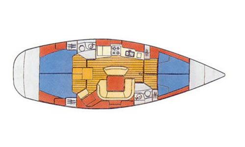 Image of Jeanneau Sun Odyssey 45.2 for sale in Greece for £85,000 Greece