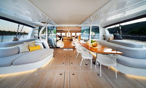 Image of Lagoon Seventy 7 for charter in Croatia from €53,000 / week Marina Kaštela, Croatia