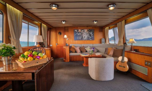 Image of Cheoy Lee 66 for charter in Thailand from €24,000 / week Yacht Haven Marina, Thailand
