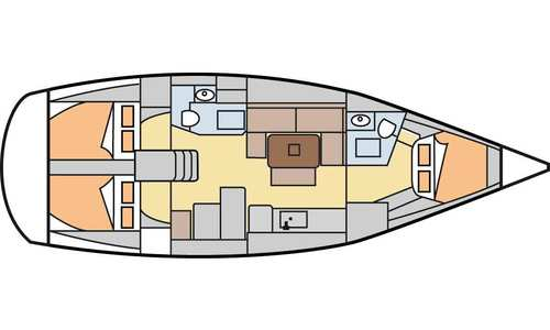 Image of Dufour Yachts 405 Grand Large for sale in Turkey for £105,000 Turkey