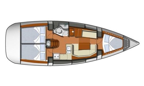Image of Jeanneau Sun Odyssey 36i for sale in Croatia for £55,000 Croatia