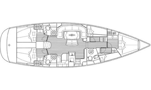 Image of Bavaria Yachts Cruiser 50 for sale in Greece for £100,000 Greece