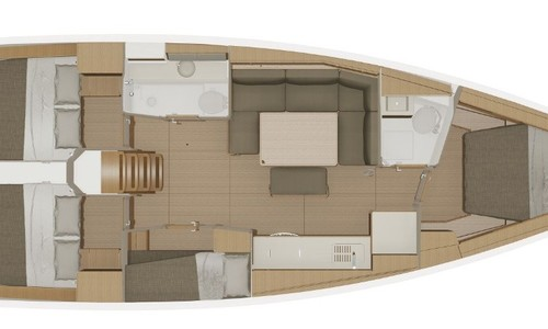 Image of DUFOUR YACHT Dufour 430 for charter in United Kingdom from €2,980 / week Port Hamble, United Kingdom