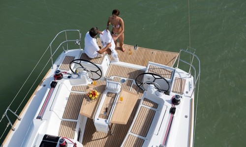 Image of Jeanneau Sun Odyssey 419 for charter in Mexico from P.O.A. Puerto Vallarta, Mexico