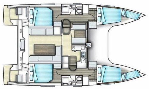 Image of Nautitech 40 for charter in Thailand from €3,430 / week Phuket, Thailand