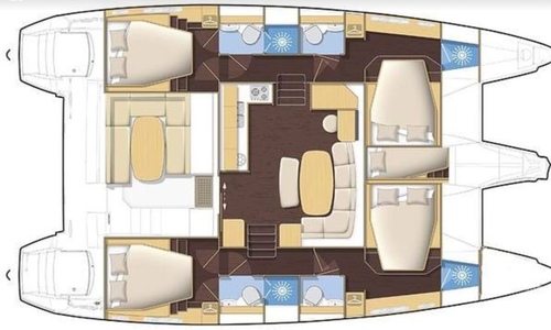 Image of Lagoon 421 for charter in Thailand from €4,449 / week Koh Chang, Thailand