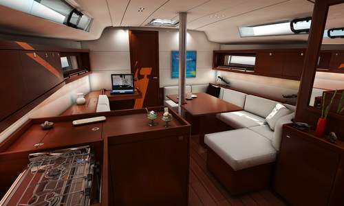 Image of Beneteau Oceanis 41.1 for charter in Mexico from €2,225 / week La Paz, Mexico