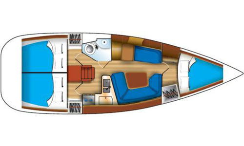 Image of Jeanneau Sun Odyssey 35 for sale in Greece for £60,000 Greece