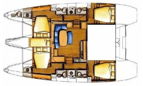 Image of Lagoon 421 for sale in Thailand for £270,000 Thailand