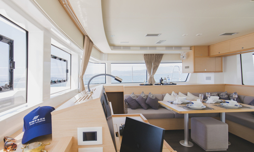 Image of Lagoon 52F for charter in Thailand from €10,000 / week Ao Po Grand Marina, Thailand