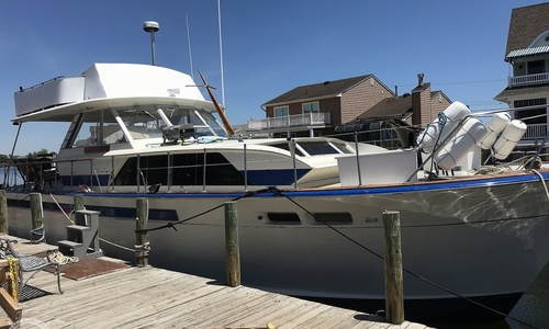 Image of Chris-Craft 470 Commander for sale in United States of America for $99,000 (£75,462) Toms River, New Jersey, United States of America