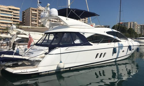 Image of Sunseeker Manhattan 60 for sale in Spain for €499,950 (£452,149) Palma de Mallorca, Spain