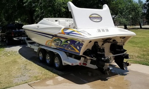 Image of Sunsation 32 Dominator for sale in United States of America for $50,000 (£36,222) Hominy, Oklahoma, United States of America
