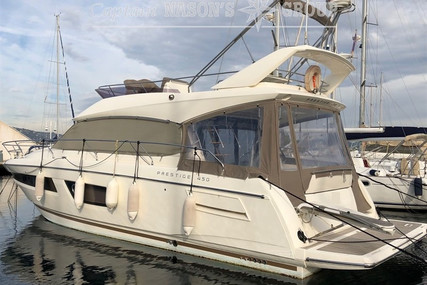 Prestige 450 for sale in France for €399,000 (£359,401)