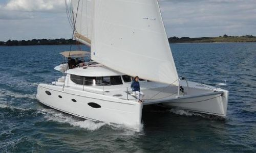 Image of Fountaine Pajot Salina 48 for sale in Greece for €275,000 (£238,254) Greece