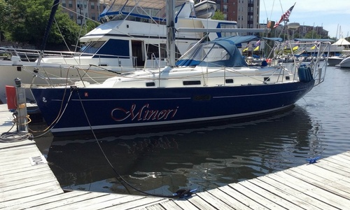 Image of Beneteau Oceanis 36 CC for sale in United States of America for $64,900 (£51,862) Jersey City, New Jersey, United States of America
