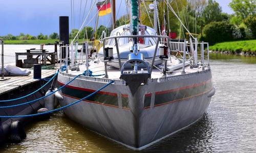 Image of Finot 45 Bluewater Aluminium Sloop for sale in Netherlands for €174,500 (£160,215) Prins van Oranje, De Stienplaat 1, 8754 HE Makkum, Netherlands