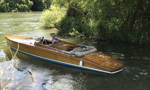 Image of Andrews Slipper Stern Launch for sale in United Kingdom for £37,500 West Berkshire, United Kingdom