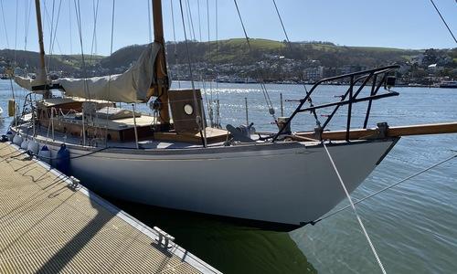 Image of Custom Dickie of Bangor Bermudan Yawl for sale in United Kingdom for £48,000 Devon, United Kingdom