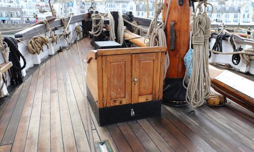Image of Custom Brixham Trawler Gaff Ketch for sale in United Kingdom for £300,000 Devon, United Kingdom