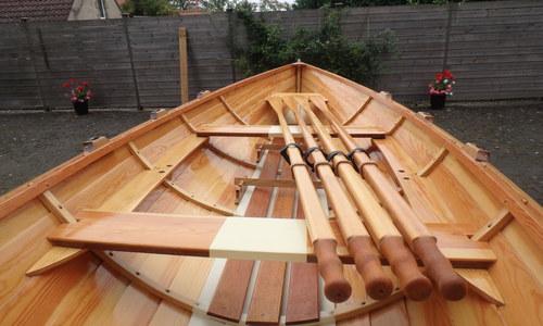 Image of Custom Paul Gartside rowing skiff for sale in United Kingdom for £6,750 Yorkshire, United Kingdom