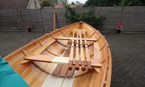 Image of Custom Paul Gartside rowing skiff for sale in United Kingdom for £6,750 Yorkshire, United Kingdom