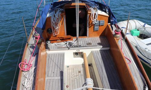 Image of Custom Buchanan Sea Spray sloop for sale in United Kingdom for £18,000 Cornwall, United Kingdom