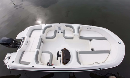 Image of Bayliner Element E5 for sale in United Kingdom for P.O.A. Farndon Marina, United Kingdom