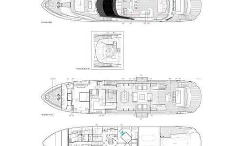 Image of Sunseeker 115 Sport Yacht for sale in France for £6,250,000 St Raphael, France