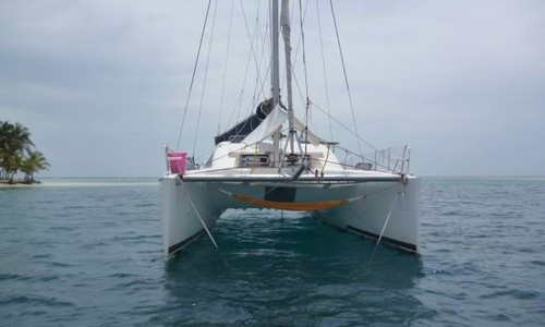 Image of Nautitech 435 for charter in Panama from P.O.A. San Blas, Panama