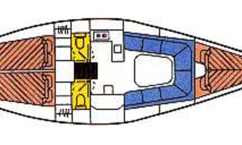 Image of Dehler 38SQ for charter in Netherlands from €1,910 / week Yerseke, Netherlands