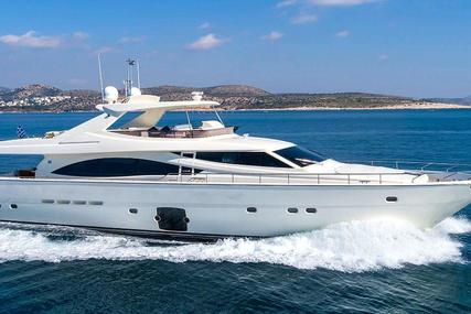 Ferretti 830 for sale in Greece for €1,700,000 (£1,538,392)