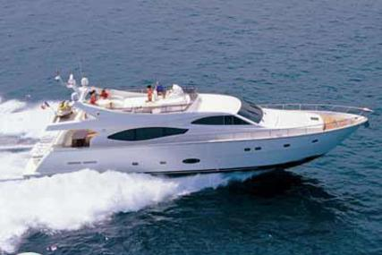 Ferretti 760 for sale in Greece for €730,000 (£653,501)
