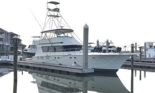 Image of Hatteras 65 SPORT FISHERMAN for sale in United States of America for $284,900 (£223,653) Hitchcock, TX, United States of America