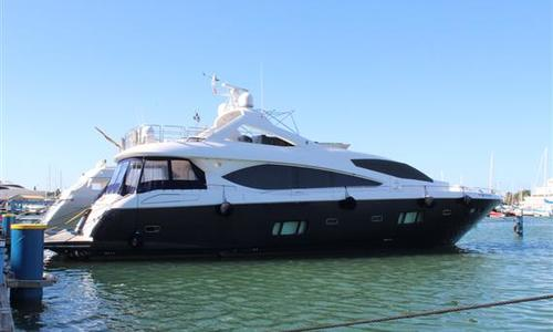 Image of Sunseeker 86 Yacht for sale in Portugal for €2,200,000 (£2,009,298) Vilamoura, , Portugal