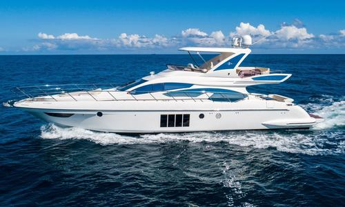Image of Azimut Yachts 64 Flybridge for sale in United States of America for $1,394,700 (£1,062,791) Fort Lauderdale, FL, United States of America