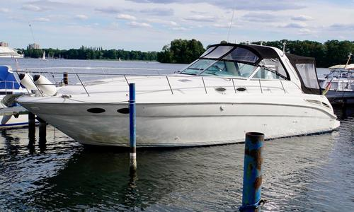 Image of Sea Ray 380 Sundancer for sale in Germany for €99,000 (£89,154) Brandenburg, , Germany