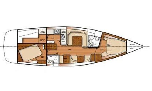 Image of Catalina 445 for sale in United States of America for $339,984 (£260,784) Kemah, TX, United States of America