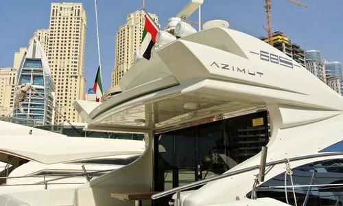 Image of Azimut Yachts 68 S for sale in United Arab Emirates for $575,000 (£415,943) United Arab Emirates