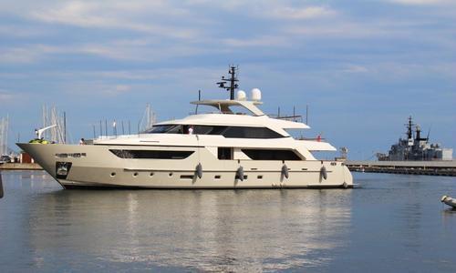 Image of Sanlorenzo SD126 for sale in Gibraltar for €13,750,000 (£12,309,317) Gibraltar