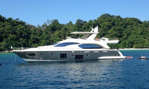 Image of Azimut Yachts 88 for sale in Thailand for €2,480,000 (£2,253,112) Phuket, , Thailand