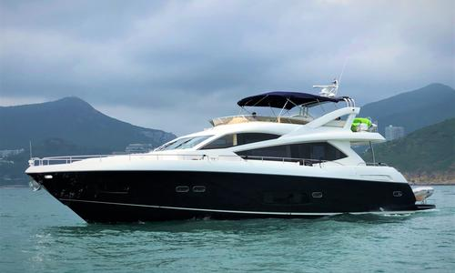 Image of Sunseeker Manhattan 73 for sale in Hong Kong for $1,550,000 (£1,236,321) Hong Kong