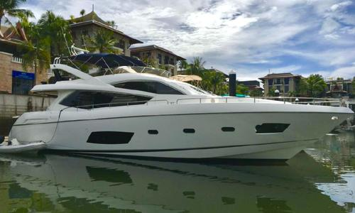 Image of Sunseeker Manhattan 73 for sale in Thailand for $2,090,000 (£1,510,825) Phuket, , Thailand
