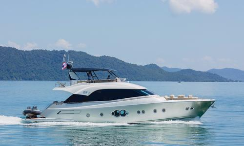 Image of MONTE CARLO YACHTS MCY 70 for sale in Thailand for €1,990,000 (£1,800,823) Phuket, , Thailand