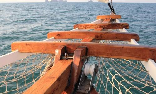 Image of Custom 20m Teak Wood Sloop for sale in Thailand for $171,000 (£122,769) Thailand