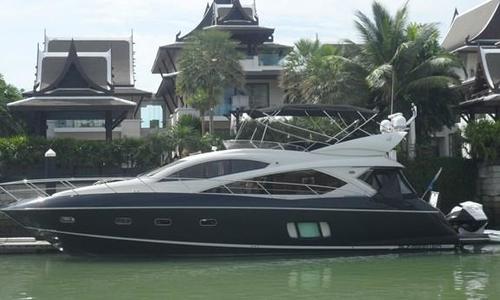 Image of Sunseeker Manhattan 60 for sale in Thailand for $780,000 (£567,665) Phuket, , Thailand