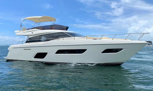 Image of Ferretti Yachts 550 for sale in Hong Kong for $948,000 (£754,783) Hong Kong