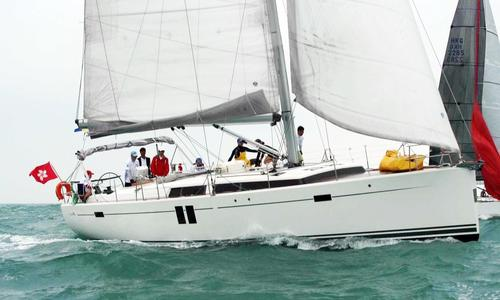 Image of Hanse 495 for sale in Hong Kong for €295,000 (£268,079) Hong Kong