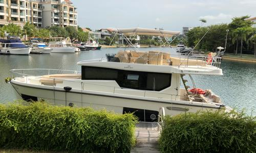 Image of Cranchi Eco Trawler 43 for sale in Singapore for $517,000 (£405,856) Singapore