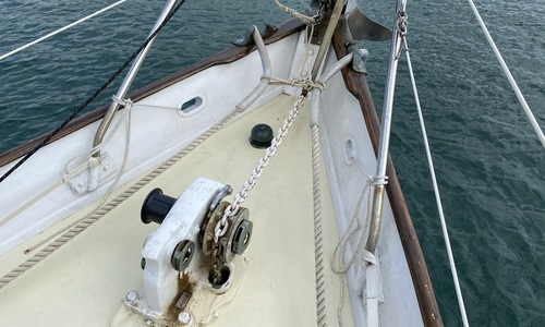 Image of Custom Laurent Giles Bermudan Cutter for sale in United Kingdom for £60,000 Devon, United Kingdom